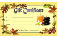 Massage Gift Certificate Template Printable FREE 01