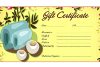 Massage Gift Certificate Template Printable FREE 02