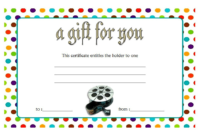 Photography Gift Certificate Template Free Download 1
