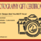 13+ Photography Session Gift Certificate Templates FREE