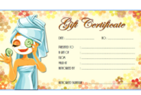 Valentines Day Massage Gift Certificate Template FREE 2