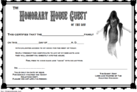 Death Certificate Haunted Mansion Free Printable 1