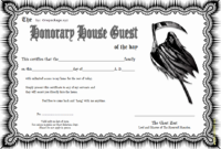 Death Certificate Haunted Mansion Free Printable 2