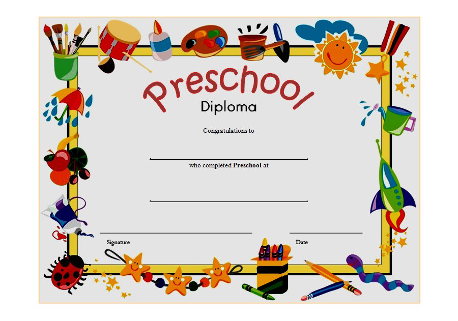 free printable preschool diploma certificate, preschool diploma certificate template, diploma certificate for preschool, preschool printable certificate of completion, free preschool diploma certificate, free preschool completion certificate templates, preschool diploma printable certificates