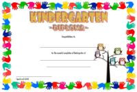 FREE Printable Kindergarten Diploma Certificate 1