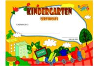 FREE Printable Kindergarten Diploma Certificate 2