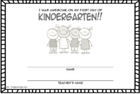 Free First Day of School Certificate Printable 1