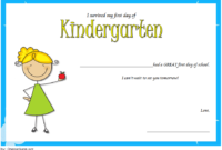 I Survived My First Day of School Certificate FREE Printable 1
