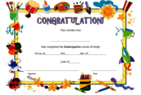 Kindergarten Diploma Certificate Free Download 1