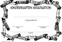 Kindergarten Graduation Certificate Free Printable 3