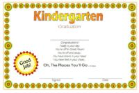 Kindergarten Graduation Certificate Template FREE Download 2
