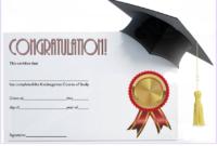 Kindergarten Graduation Certificate Template FREE Download 3