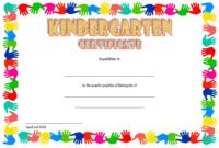 Kindergarten Graduation Certificate Template FREE Download 4