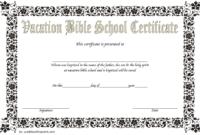 Lifeway VBS Certificate Template Free 1