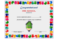Preschool Graduation Certificate Printable Free 3
