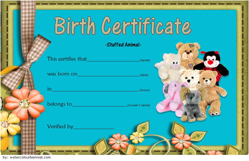 stuffed animal birth certificate template, printable stuffed animal birth certificate, stuffed animal birth certificate free, stuffed toy birth certificate