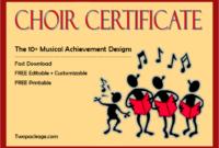 choir award certificate template, choir certificate of participation template, certificate of musical achievement for choir, free choir certificate template, choir certificates free, children's choir certificates