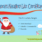 9+ Santa Naughty List Certificate Templates Free Download