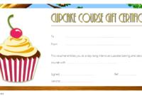 Free Cupcake Gift Certificate Template Printable 1