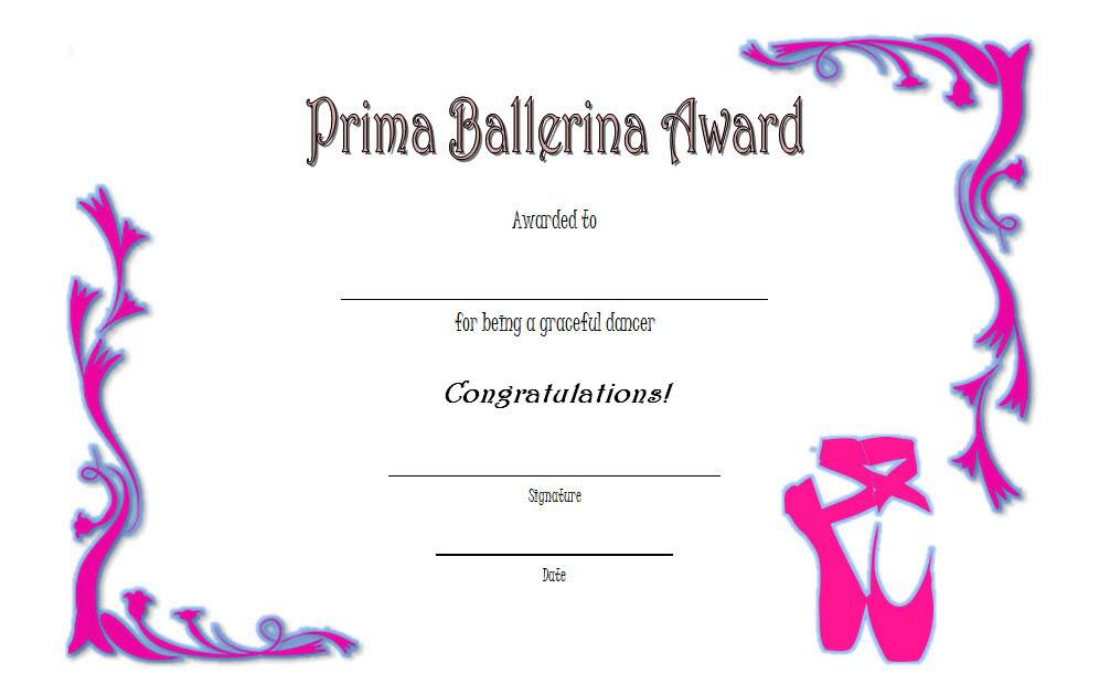 ballet certificate, level 33 intermediate ballet certificate, ballerina award certificate, ballet certificates to print, ballet certificate of participation, ballet certificate templates for word, ballet certificate ideas