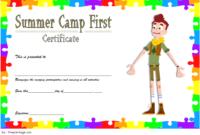 Summer Camp Certificate Design Template FREE 2