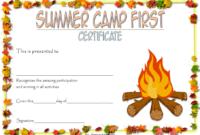 Summer Camp Certificate Design Template FREE 3