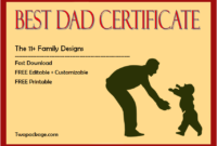 certificate for best dad, best dad certificate free printable, best dad certificate template, best dad certificate award, best dad ever certificate, free printable world's best dad certificate