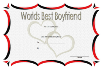 Best Boyfriend Ever Certificate Printable Free 2