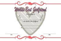 FREE Best Girlfriend Award Certificate Template 1