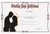 FREE Best Girlfriend Award Certificate Template 3