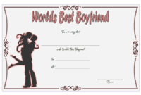 Free Best Boyfriend Award Certificate Template Printable 2