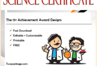 science certificate template free, science olympiad certificate template, science award certificate template, science certificate template free download, science achievement certificate template, free printable science award certificates