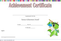 FREE Science Achievement Certificate Template 1