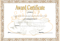 Math Award Certificate Template Free Customizable 02
