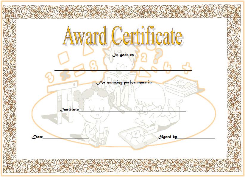 math achievement award certificate templates, math award certificate template, math achievement certificate template, math olympiad certificate template, best in mathematics certificate template, mathematics achievement certificate