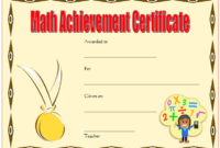 Math Olympiad Certificate Template Free Printable 01