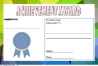 Most Likely to Succeed Award Template FREE 1