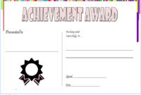 Most Likely to Succeed Award Template FREE 2
