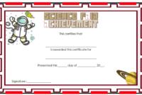 Science Fair Certificate Template Free Download 1