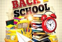1st Back to School Night Flyer Template Free Design