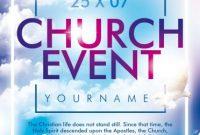 1st Church Event Flyer Template Free Design