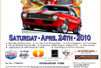 1st Classic Car Show Flyer Template Free Design