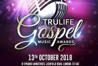 1st Gospel Concert Flyer Template Free Download Design