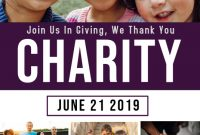 2021 Charity Event Flyer Templates Free Design