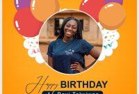 2nd Birthday Flyer Template PSD Free Design