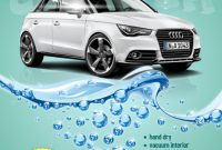 2nd Car Wash Flyer Template PSD Free Design