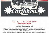 2nd Classic Car Show Flyer Template Free Design