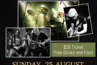 2nd Rock Concert Flyer Template free Design