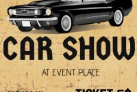 3rd Classic Car Show Flyer Template Free Design