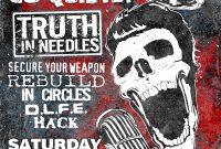 3rd Rock Concert Flyer Template free Design
